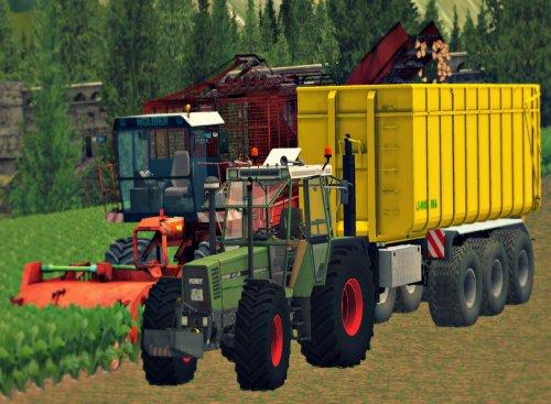 Foto van een Farming Simulator Fendt, bezig met bieten rooien. Mooi spul ja :). Geplaatst door Mf1155 op 06-11-2013 om 15:53:10, met 11 reacties.