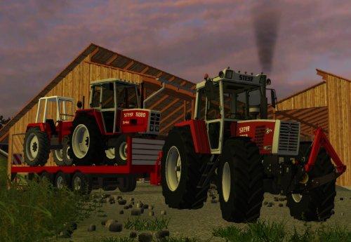 Foto van een Farming Simulator Steyr. leuk zo, je matriaal van thuis in t spel hebben :). Geplaatst door Mf1155 op 29-12-2013 om 22:32:47, met 3 reacties.