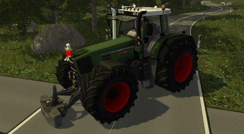 Foto van een Farming Simulator Fendt, bezig met poseren.. Geplaatst door RobinFord op 02-02-2015 om 18:28:52, met 14 reacties.