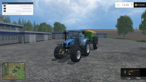 Foto van een Farming Simulator New Holland.. Geplaatst door JD 6125R op 05-04-2015 om 10:50:55, op TractorFan.nl - de nummer 1 tractor foto website.