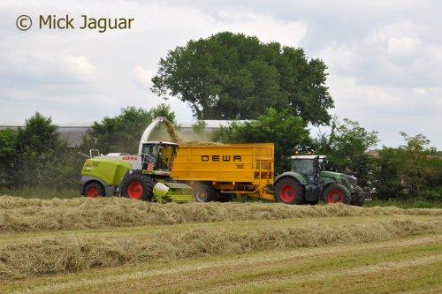 Fendt 924 van Mick Jaguar