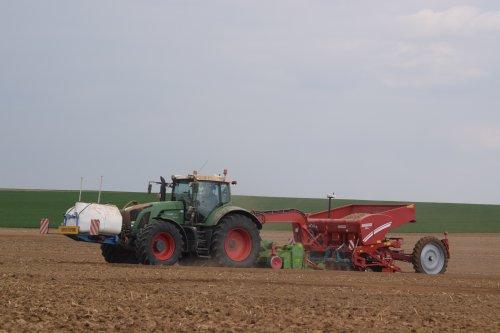 Foto van een Fendt 930. Geplaatst door jd7920 op 13-04-2017 om 16:33:36, op TractorFan.nl - de nummer 1 tractor foto website.