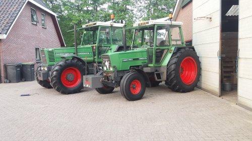 Foto van een Fendt 308 gras dr weer uut estoft. Geplaatst door mts mulder op 02-06-2017 om 19:29:30, op TractorFan.nl - de nummer 1 tractor foto website.