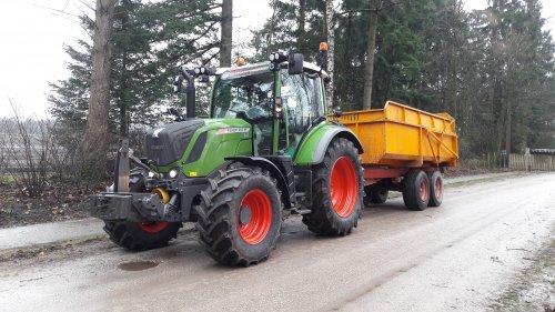 Foto van een Fendt 310 Vario. Geplaatst door Henco op 10-01-2018 om 18:32:38, op TractorFan.nl - de nummer 1 tractor foto website.