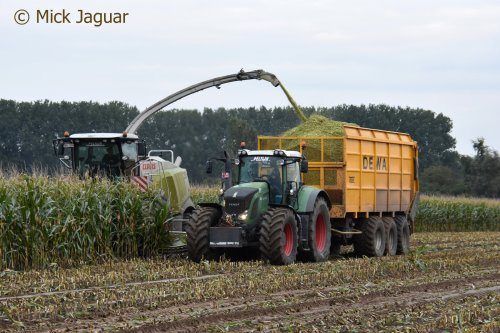Fendt 927 van Mick Jaguar