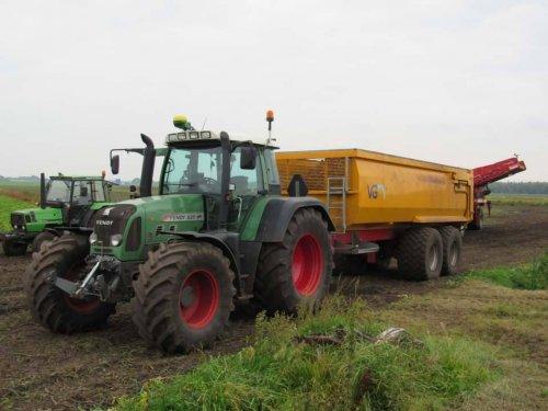 Foto van een Fendt 820. Geplaatst door jans-eising op 14-01-2018 om 11:41:31, op TractorFan.nl - de nummer 1 tractor foto website.