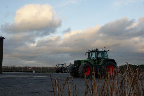 Foto van een Fendt 916. Geplaatst door fendt280v op 14-01-2018 om 15:58:41, op TractorFan.nl - de nummer 1 tractor foto website.