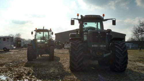 Fendt Vario van case en international 1455xl