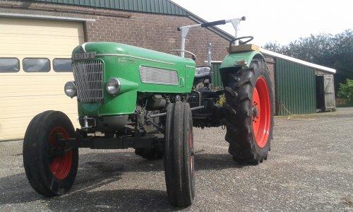 Foto van een Fendt Favorit 1. Geplaatst door Teunraaij op 16-03-2018 om 15:05:05, op TractorFan.nl - de nummer 1 tractor foto website.