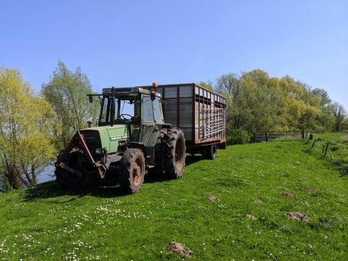 Foto van een Fendt 307 Lsa zo eindelijk alle dieren weer naar buiten. Geplaatst door Quintto op 21-04-2018 om 20:02:26, op TractorFan.nl - de nummer 1 tractor foto website.