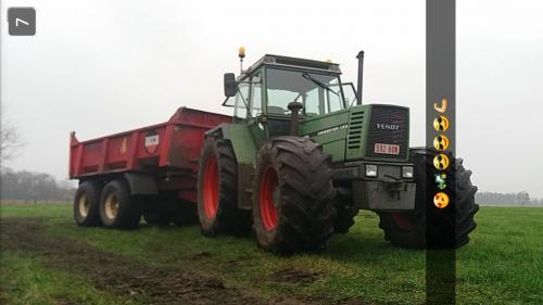 Foto van een Fendt 611. Geplaatst door cisseh op 23-04-2018 om 21:50:22, op TractorFan.nl - de nummer 1 tractor foto website.