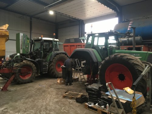 Fendt 818 van Gavrie Willemsen
