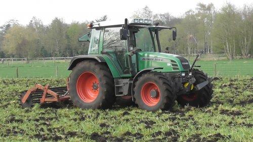14 april 2018 - Cultiveren met de Fendt Farmer 309Ci trekker en vaste tand cultivator! https://youtu.be/Dktp2SK-1ec