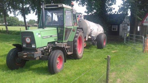 Foto van een Fendt 306 LS. Geplaatst door g-g op 16-05-2018 om 16:59:59, op TractorFan.nl - de nummer 1 tractor foto website.