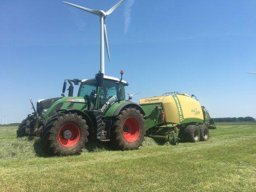Foto van een Fendt 720. Geplaatst door yael-heringa op 08-06-2018 om 21:44:18, op TractorFan.nl - de nummer 1 tractor foto website.