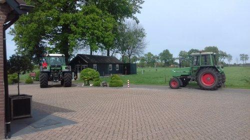Foto van een Fendt 306 en 511. Foto al eerder geplaats maar perongeluk verwijdert.. Geplaatst door g-g op 11-10-2018 om 23:56:26, op TractorFan.nl - de nummer 1 tractor foto website.