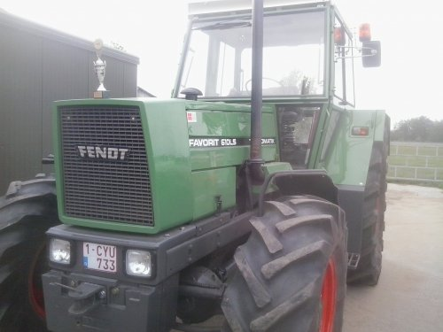 Fendt 610 van MR T