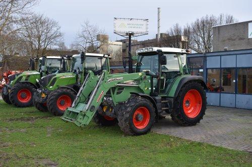 Foto van een Fendt 309 Vario. Geplaatst door jordi 1455 op 11-02-2019 om 22:55:32, op TractorFan.nl - de nummer 1 tractor foto website.