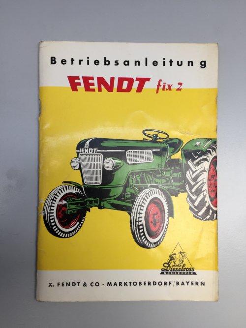 Het originele boekje. Geplaatst door fendt fix fan op 07-05-2019 om 18:52:16, op TractorFan.nl - de nummer 1 tractor foto website.
