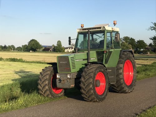 Fendt 612 van unipower