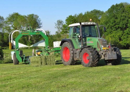 Fendt 412 van Oldtimer-fan