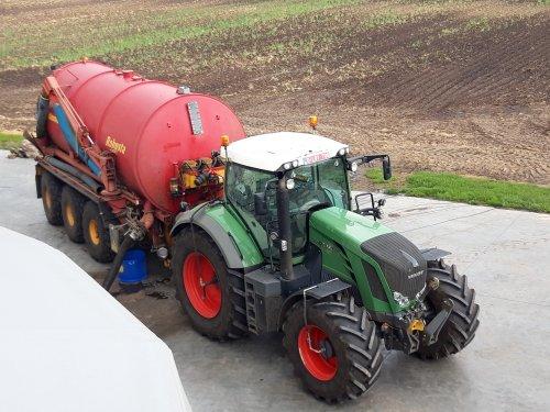 Fendt 822 Vario van landbouw