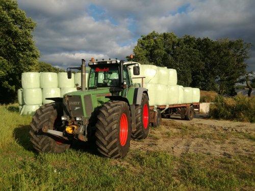 Hier zie je Mts. J en C De Kruijf (Leusden) × met een Fendt 916.. Geplaatst door CHALLENGERfan op 01-07-2019 om 22:30:44, op TractorFan.nl - de nummer 1 tractor foto website.