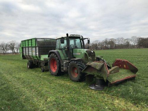 Foto van een Fendt 412 15 december 2018. Geplaatst door jasper-santing0 op 18-07-2019 om 12:47:25, op TractorFan.nl - de nummer 1 tractor foto website.