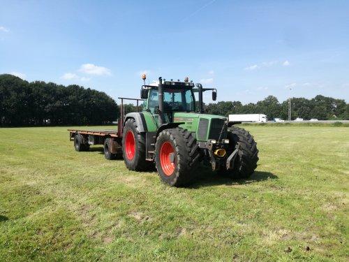 Op deze foto is Mts. J en C De Kruijf (Leusden) × actief met een Fendt 916.. Geplaatst door CHALLENGERfan op 22-08-2019 om 15:16:59, op TractorFan.nl - de nummer 1 tractor foto website.