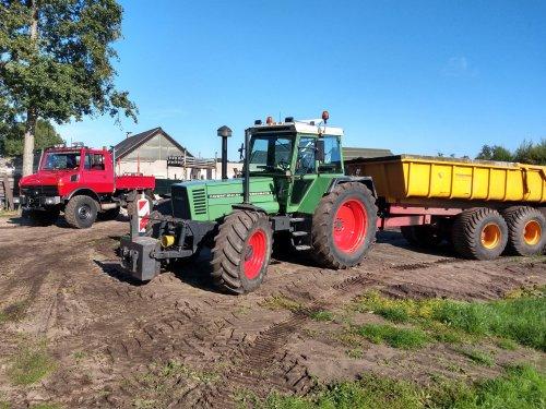 Foto van een Fendt 614. Geplaatst door arnoud op 29-10-2019 om 09:54:54, op TractorFan.nl - de nummer 1 tractor foto website.
