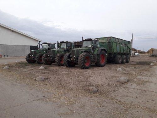 Foto van een Fendt 824. Geplaatst door dx11 op 29-10-2019 om 20:24:32, op TractorFan.nl - de nummer 1 tractor foto website.