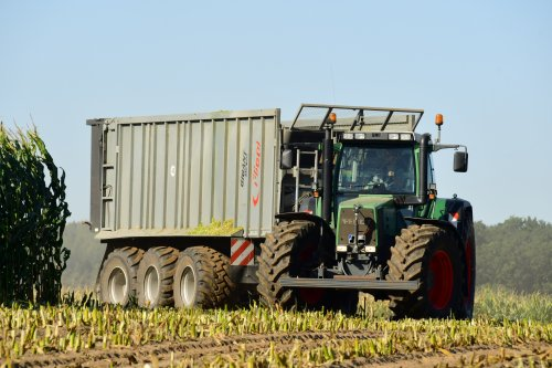 Fendt 824 met Fliegl. Geplaatst door jd7920 op 02-11-2019 om 20:11:08, op TractorFan.nl - de nummer 1 tractor foto website.