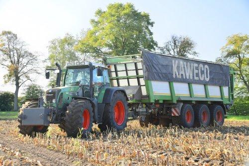 Fendt 818 met Kaweco. Geplaatst door jd7920 op 02-11-2019 om 20:11:12, op TractorFan.nl - de nummer 1 tractor foto website.