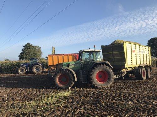 Foto van een Fendt 920 van Loon-& Grondverzetbedrijf Schimmel Scherpenzeel (Scherpenzeel) ×.. Geplaatst door B - W op 02-12-2019 om 20:45:02, op TractorFan.nl - de nummer 1 tractor foto website.