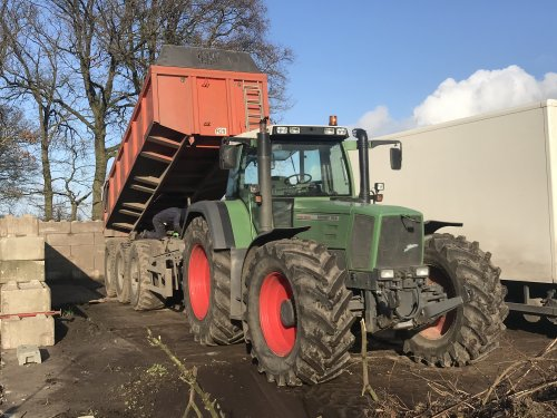 Fendt 916 van Gavrie Willemsen
