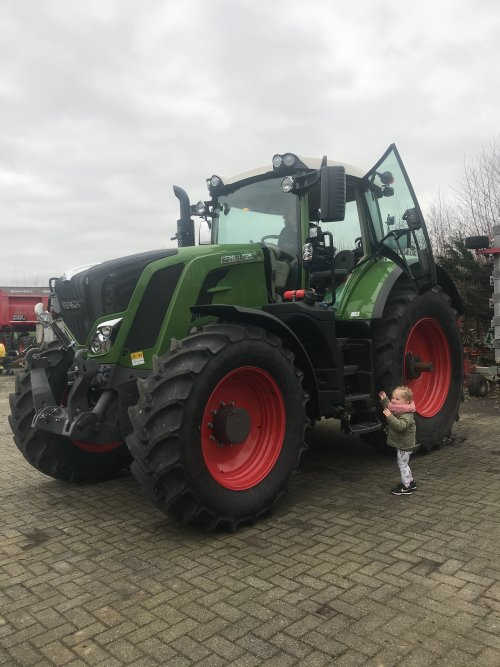Fendt 826 van Gavrie Willemsen
