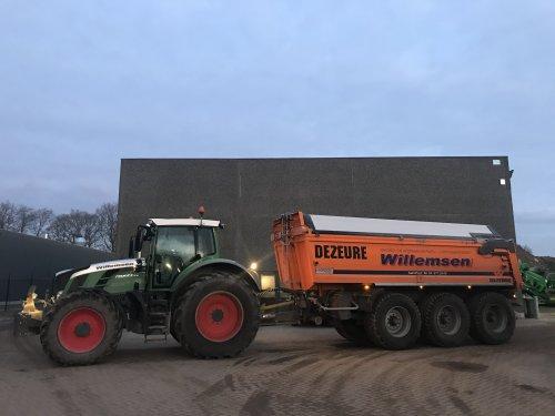 Fendt 828 van Gavrie Willemsen