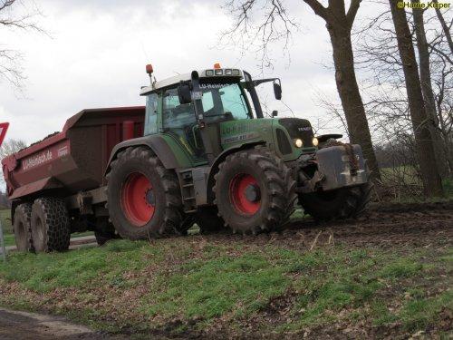 Foto van een Fendt 815. Geplaatst door oldtimergek op 21-02-2020 om 10:10:51, op TractorFan.nl - de nummer 1 tractor foto website.