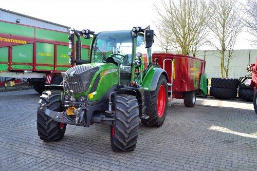 Foto van een Fendt 313 Vario. Geplaatst door Lucas Ensing op 10-03-2020 om 13:01:11, op TractorFan.nl - de nummer 1 tractor foto website.