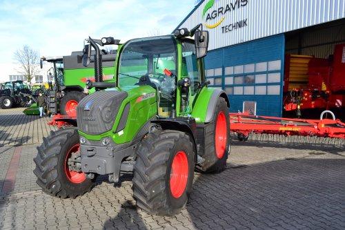Foto van een Fendt 313 Vario. Geplaatst door Lucas Ensing op 19-03-2020 om 20:59:56, op TractorFan.nl - de nummer 1 tractor foto website.
