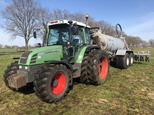Fendt Farmer 308 van KlaasM