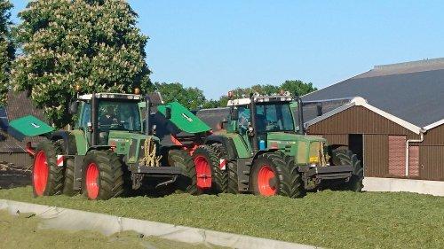 Foto van een Fendt 920 & 924 loon & Grondverzetbedrijf Wesselink Manderveen. Geplaatst door Gijswesselink op 09-05-2020 om 20:07:06, met 21 reacties.