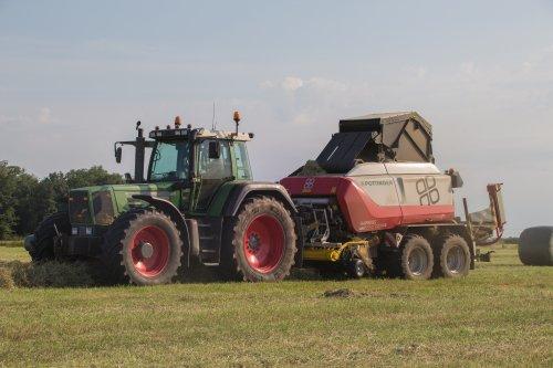Loon-grondverzetbedrijf Doornewaard (Oosterwolde GLD) × op de foto met een Fendt 916. Ruim 23500 uur.. 😊