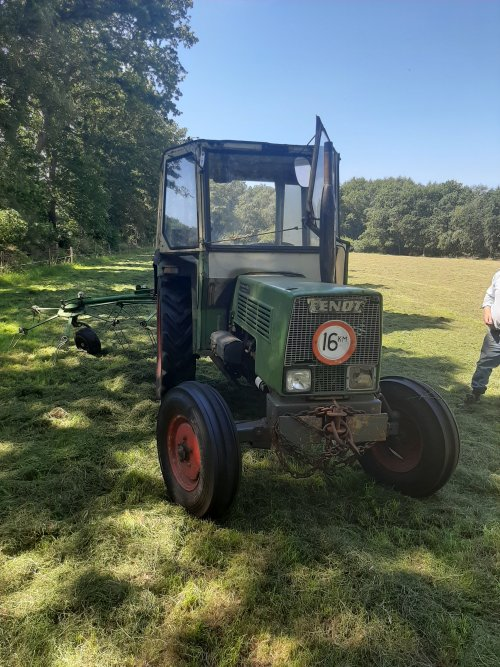 Fendt 102 van Albert Peters