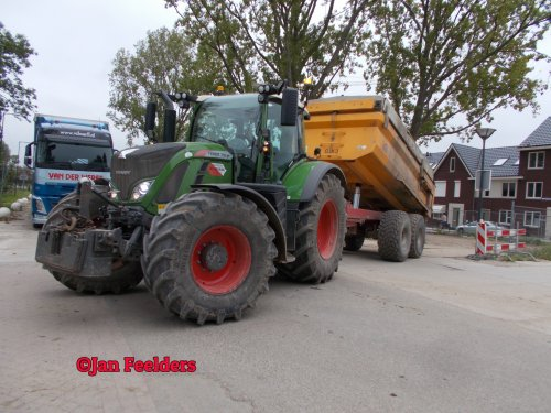 Fendt 718 van Jan F