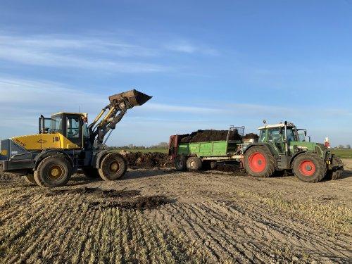 Foto van een Fendt 718. Geplaatst door langeniebange op 27-04-2021 om 11:04:00, op TractorFan.nl - de nummer 1 tractor foto website.