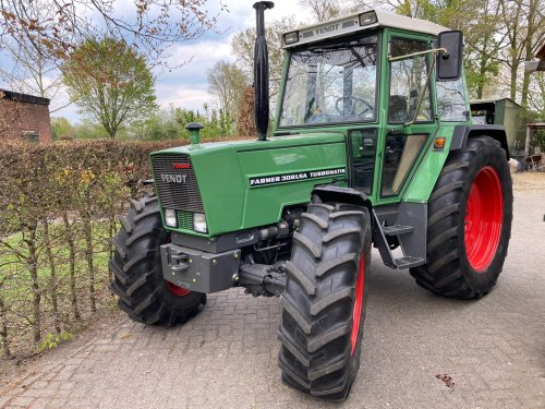Fendt 308 van unipower