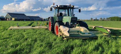 Foto van een Fendt 514 C. Geplaatst door sameiron op 28-05-2021 om 21:01:54, op TractorFan.nl - de nummer 1 tractor foto website.