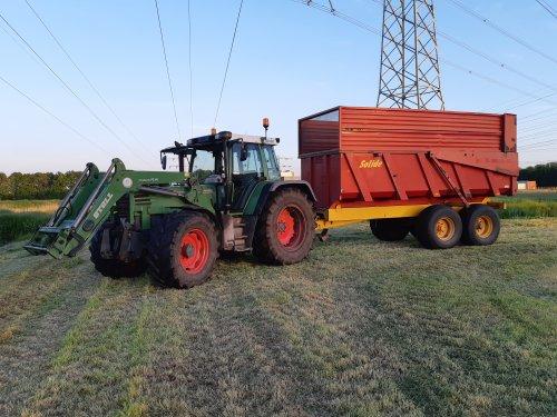 Foto van een Fendt 514 C. Geplaatst door cb6520 op 09-06-2021 om 12:21:26, op TractorFan.nl - de nummer 1 tractor foto website.
