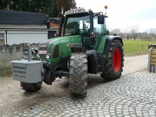 Foto van een Fendt 714 na een wasbeurt.. Geplaatst door fendt-714 op 26-02-2011 om 20:52:00, op TractorFan.nl - de nummer 1 tractor foto website.